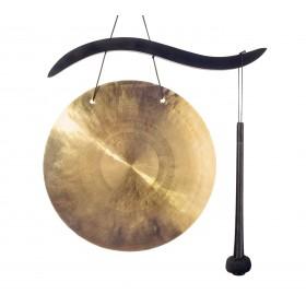 Gongo Oriental em Bronze (Wind Gong) - 25 cm