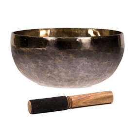 Taça Tibetana Decorada Vermelha - 13.5 cm