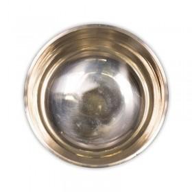 Taça Tibetana Ishina com batente em madeira - 28 cm