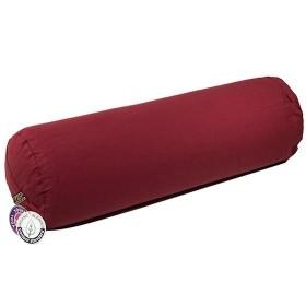 Bolster cilíndrico para yoga - Vermelho