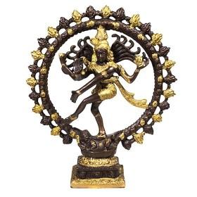 Estátua de Shiva Nataraj - 27 cm