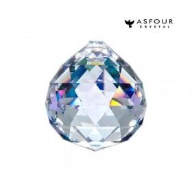 Bola de Cristal Multifacetado Asfour - 40 mm