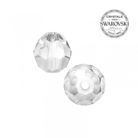 Contas de Cristal Multifacetado Swarovski de 10 mm - 10 contas