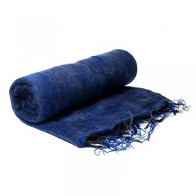 Manta para yoga e meditação - Azul