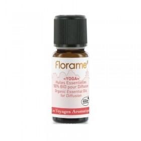 Blend de óleo essencial biológico para Yoga Florame - 10 ml