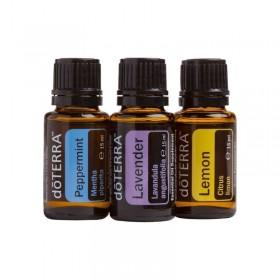 Conjunto introdutório grande de óleos essenciais doTERRA - 15 ml