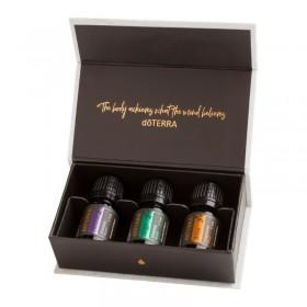 Conjunto de óleos essenciais Yoga (Yoga Collection) doTERRA - 5 ml