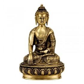 Estátua de Buda Shakyamuni (Gautama Siddartha) - 27 cm