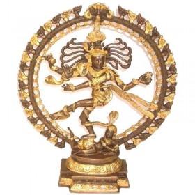 Estátua de Shiva Nataraj - 48 cm