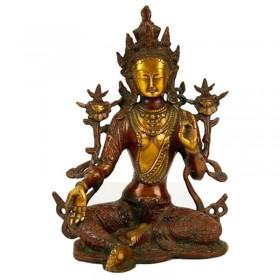 Estátua de Tara Verde - 26 cm
