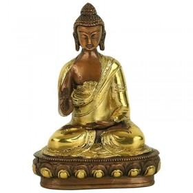 Estátua de Buda em Vitarka Mudra - 20 cm